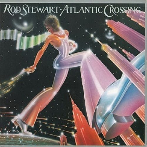 ROD STEWART Atlantic Crossing LP Vinyl Record Album 33rpm Warner Bros. 1975